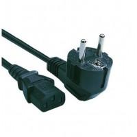 Strāvas kabelis datoram (barošanas kabelis, barošanas vads, power cable), 1.5m