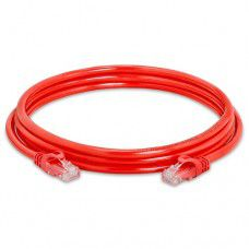 Сablexpert LAN Patch Cord network / internet cable RJ45, red, 1.5m, PP12-1.5M/R