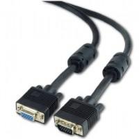 Gembird Premium VGA (monitora) HD15M / 15-pin D-Sub pagarinātājs extension kabelis 10m (melns)