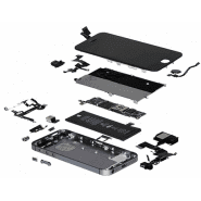 iPhone 5 repair, components replacement, diagnostics
