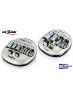 NTG jaunums: Ansmann Energy 8 / 16 Plus Ni-MH / Ni-Cd akumulatoru (AA, AAA, 9V, C, D) lādētājs