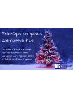 NTG novēl priecīgus un gaišus Ziemassvētkus