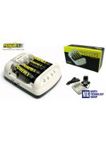 NTG jaunums: Maha Powerex MH-C401FS Smart Pulse 4-kanālu NiMH/NiCd AA/AAA akumulatoru lādētājs