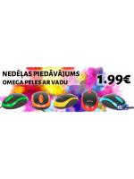 NTG nedēļas piedāvājums: Omega optiskās peles ar USB vadu par 1.99€