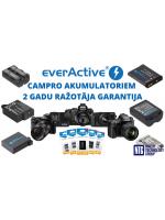 NTG piedāvā: everActive CamPro akumulatoriem tiek nodrošināta 2 gadu ražotāja garantija
