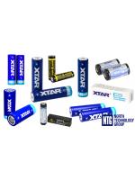 NTG piedāvā: Xtar 16340, 14500, 18650 un 26650 izmēra Li-Ion akumulatori ar PCB aizsardzību