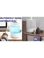 NTG jaunums: BlitzWolf RGB BW-SH1 un BW-SH2 gaisa mitrinātājs