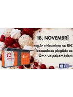 NTG piedāvā: 18. novembrī bezmaksas piegāde uz jebkuru Omniva pakomātu