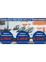 NTG piedāvā: jaunas un zemākas cenas piegādei ntg.lv pirkumiem ar Omniva kurjeru