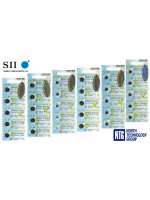 NTG jaunums: Seizaiken by Seiko 1.55V Silver Oxide 0% Hg pulksteņu baterijas