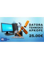NTG serviss: Datora tehniskā apkope 25EUR!