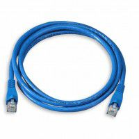 4world Accessories LAN Patch Cord tīkla / interneta kabelis (RJ45) 3m (zils)