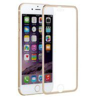 Protective glass 3D Glass Full Cover 9H Apple iPhone 6/6s for smartphones (golden)
