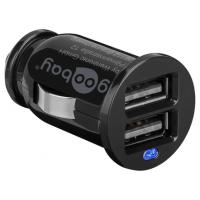 GooBay Dual 2x USB 2.0 car charger 5V 2.1A auto DC lādētājs