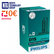 Philips D1S Xenon X-treme Vision gen2 +150% auto spuldze 85415XV2C1 1 gab.