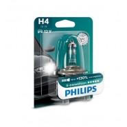 Philips H4 X-treme Vision +130% car bulb 1 pc.
