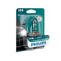 Philips H4 X-treme Vision +130% car bulb 1 pc.