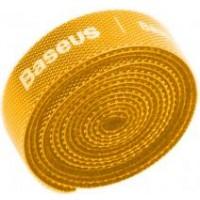 Baseus Circle Velcro Strap, Organizer, yellow, 1m