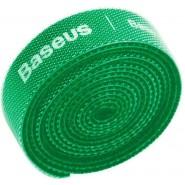 Baseus Circle Velcro Strap, Organizer, green, 3m