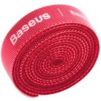 Baseus Circle Velcro Strap, Organizer, red, 3m