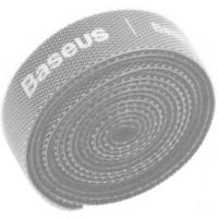 Baseus Circle Velcro Strap, Organizer, gray, 3m