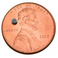 Neodymium Magnet 2mm x 1mm, 1 pc.