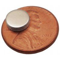 Neodymium Magnet 8mm x 2mm, 1 pc.