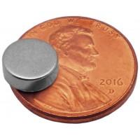 Neodymium Magnet 8mm x 3mm, 1 pc.