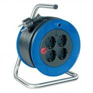 Brennenstuhl Garant extension cable reel 15m, 4 sockets, 3G1,5VVF, IP20, 1079180032