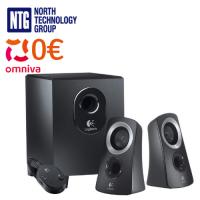 Logitech speaker system with subwoofer, Z313