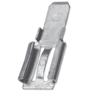 10x Terminal Adapter for lead-acid batteries 6.35 mm x 4.74 mm, T2-T1, 10 gab.