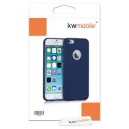 iPhone 6/6S silicone case for smartphone (dark blue matte)
