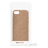 iPhone 7/8/SE (2020) silicone case for smartphone (light brown)