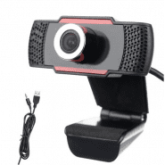 Webcamera 720p HD with built-in microphone