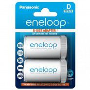Panasonic Eneloop adapter AA to D/R20, 2 pc., blister
