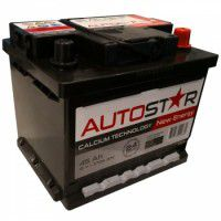 Auto Star 12V 45Ah 370A automotive battery AK-AP54588