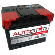 Auto Star 12V 58Ah 460A automotive battery AK-AP55858