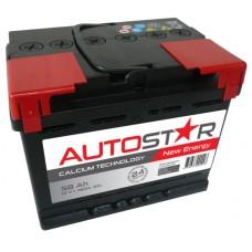 Auto Star 12V 58Ah 460A automotive battery AK-AP55858