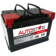 Auto Star 12V 78Ah 680A automotive battery AK-AP57801