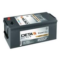 Deta HD Heavy automotive battery 12V 185Ah 1100A, AK-DE1853