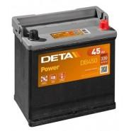 Deta Power automotive battery 12V 45Ah 330A, AK-DB450