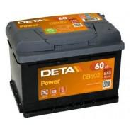 Deta Power automotive battery 12V 60Ah 540A, AK-DB602