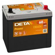 Deta Power automotive battery 12V 60Ah 390A, AK-DB604