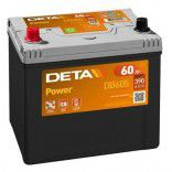 Deta Power automotive battery 12V 60Ah 480A, AK-DB605L