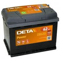 Deta Power automotive battery 12V 62Ah 540A, AK-DB620
