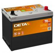 Deta Power automotive battery 12V 70Ah 540A, AK-DB704