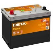 Deta Power automotive battery 12V 70Ah 540A, AK-DB705L