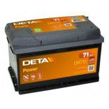Deta Power automotive battery 12V 71Ah 670A, AK-DB712