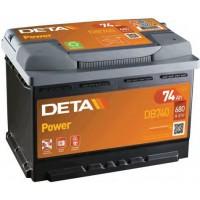 Deta Power automotive battery 12V 74Ah 680A, AK-DB740