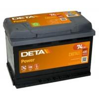 Deta Power automotive battery 12V 74Ah 680A, AK-DB741L